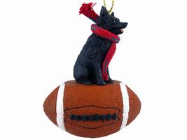 Schipperke Football Ornament - $17.99