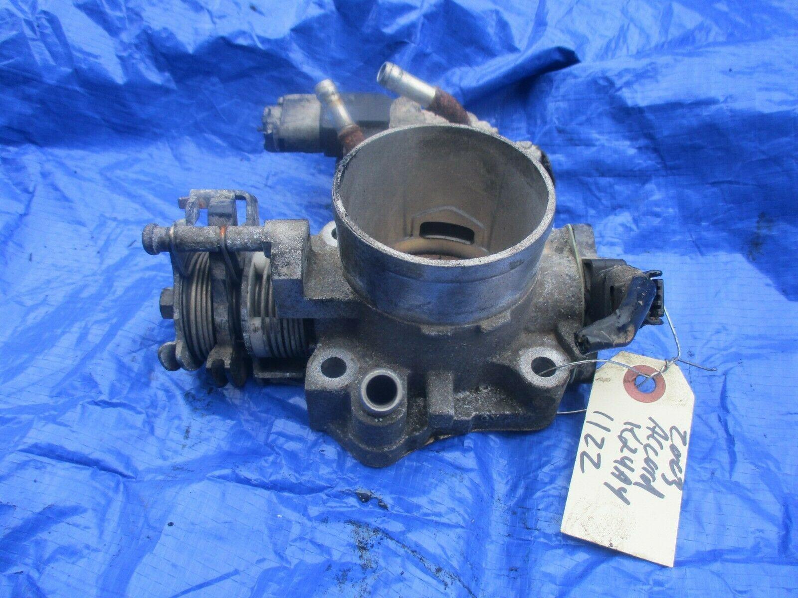 03-04 Honda Accord K24A4 throttle body assembly engine motor OEM K24 1122