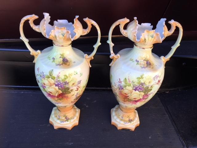 Lefton China Hand Painted Vase 1040 Best Vase Decoration 2018