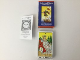 Tarot Card Deck Universal Waite US Games Systems 2004 Complete Instructi... - $17.77