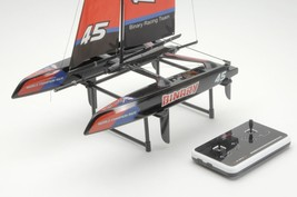 Radio Control 2.4G Ship RC Binary Racing Team Catamaran Yacht 390 mm Boa... - $129.00