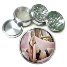 Switzerland Pin Up Girls D8 63mm Aluminum Kitchen Grinder 4 Piece Herbs & Spices - $13.81