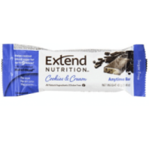 Extend Bar Cookies & Cream - $2.05
