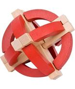"""Ebros Frank Lloyd Wright Sphere 3D Puzzle 3.75"""" Height Wooden Puzzles Br... - $10.88"""