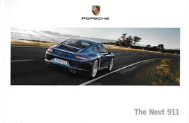 2012 Porsche 911 CARRERA Coupe sales brochure catalog 12 S 991 Next - $12.00