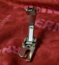 Genuine Bernina 4mm Lap Seam Foot #70 - Old Style -Rare & Is EXCELLENT!!!! - $59.95