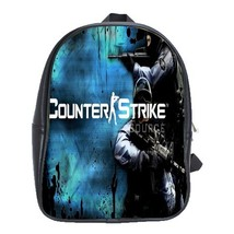 Backpack School Bag Counter Strike Logo CSGO Battle Action Video Game Animation  - $33.00