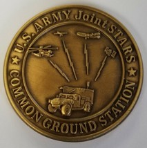 Us Army Usaf Air Force Usms Motorola Joint Stars Common Ground Station Coin - $74.24