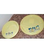 New Minions Despicable Me 2 Pc Set Hard Plastic Bowl Plate Set - $5.63