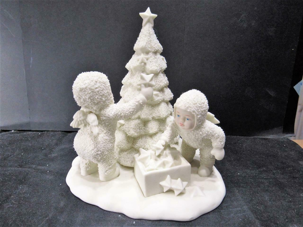 "Primary image for (#88) ""WE WILL MAKE IT SHINE"" 79464 Dept 56 D56 Snowbabies CHRISTMAS FIGURINE"