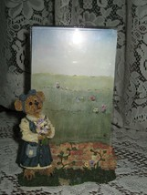"2000~Boyds Bears & Friends~#27360~""Abby T. Bearymuch Yours Truly~Figurine Frame - $8.88"