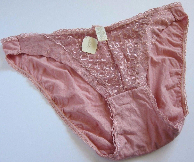 c8faf3fbe304 S l1600. S l1600. Previous. NWT Victoria's Secret VINTAGE 80s 90s Goldlbl Lace  String Bikini Panties LARGE