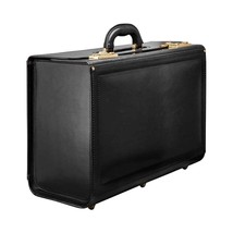 Pilot Leather Flight Catalog Case Lawyer Messenger Bag Briefcase Attache... - $1,862.16