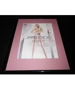 2015 Jimmy Choo Illicit Framed 11x14 ORIGINAL Advertisement B - $32.36