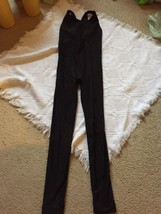 MARIKA Size M Bodysuit Unitard Black Body Suit Workout Fitness Outfit Re... - $33.93