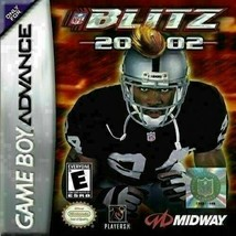 NFL Blitz 2002  20-02 (Nintendo Game Boy Advance) CART ONLY - $7.48
