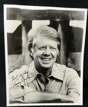 """Vintage Rare Older Original 1976 Campaign Photo Jimmy Carter Signed 8"""" x... - $62.99"""