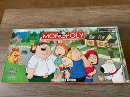 Parker Brothers Family Guy Monopoly Board Game Collectors Edition Complete - £32.27 GBP