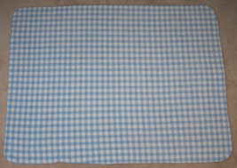 Lullaby Club Baby Boy Blue/White Plaid Checked ... - $24.14