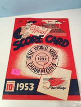 1953 Rochester Red Wings v Buffalo Baseball Scorecard EX #B - $31.68