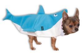 Shark Attack Pet Costume Dog Large Size jumpsuit plush - £6.10 GBP