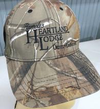 Harpole's Heartland Lodge Camo Realtree Adjustable Baseball Cap Hat  - $17.02