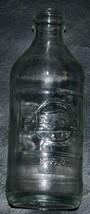 VTG PEPSI COLA CLEAR GLASS SCREW TOP BOTTLE 10 FL OZ NO REFILL - $6.80