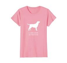 Labrador Retriever Shirt - white silhouette - $19.99+