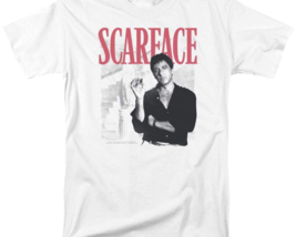 Scarface Retro 80's movie Al Pacino graphic cotton T-shirt UNI1003 image 2