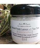 Organic Powder Deodorant Handmade Creation Non GMO Safe Alternative - $6.50