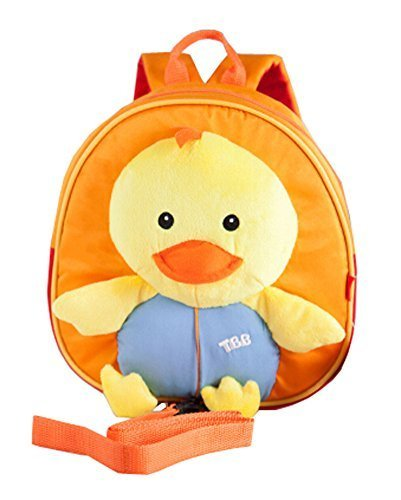 Korean Fashion Infant Knapsack Toddle Backpack Prevent From Getting Lose Duck