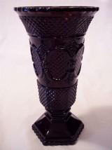 "Avon Cape Cod Ruby 8"" Flower Vase  - $7.59"