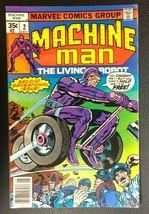 MACHINE MAN #2 (1978) Marvel Comics Jack Kirby VG+/FINE- - $12.86