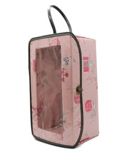 "Vintage 1950s Pink Vinyl Doll Wardrobe Case Travel Bon Voyage Fits 8"" Doll - $28.01"