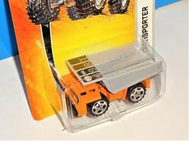 Matchbox 2006 MBX Metal #47 Transporter Dirt Hauler Dump Truck Orange Metal Bed - $4.00