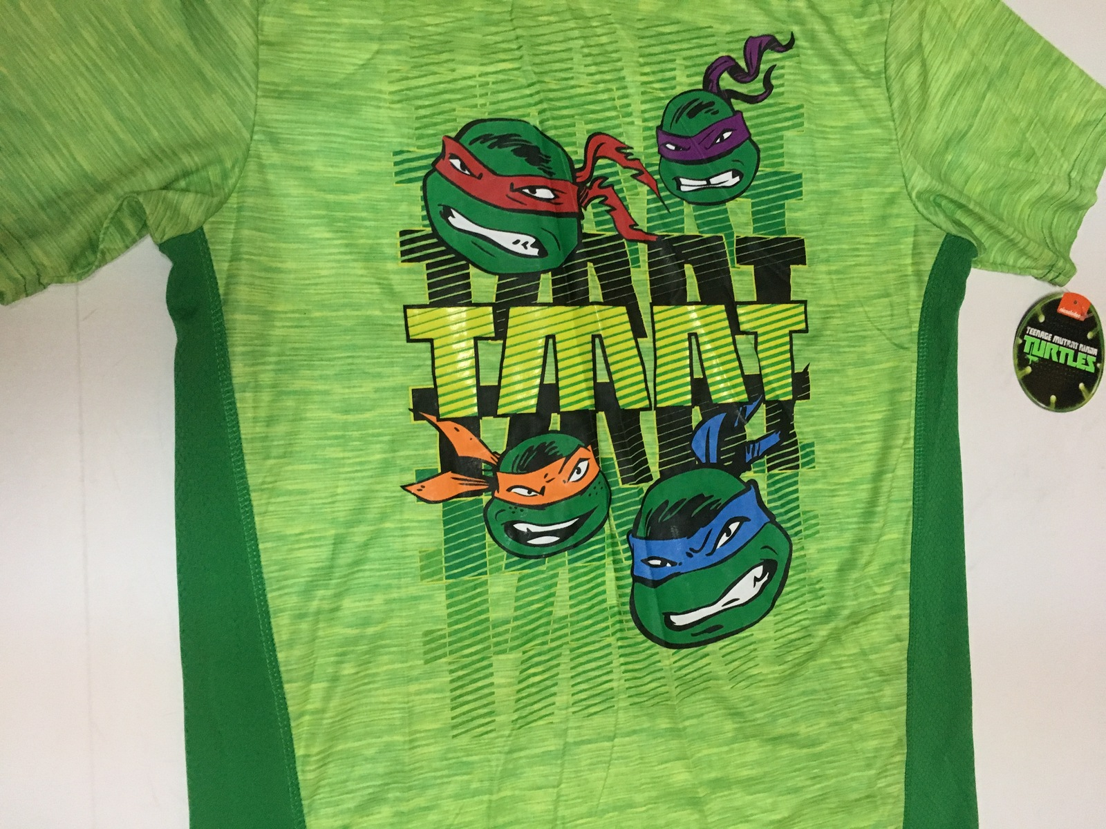 Boy's Nickelodeon Ninja Turtle Active Shirt NWT Sz XL (14/16)
