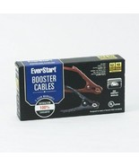 EVERSTART BOOSTER CABLES 12FT 10 GAUGE FOR COMPACT CARS - $14.85