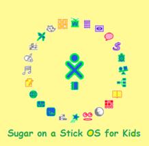 FEDORA Linux Sugar on a Stick Education Live on 4GB USB Flash Drive Late... - $10.11