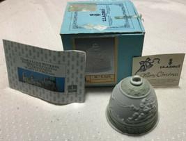 1988 LLadro Christmas Ornament Bell - 5.525 Mate Campanita Navidad 1.988 - $9.50