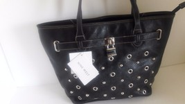 Nine West Eye Candy Large Tote Black - $61.38
