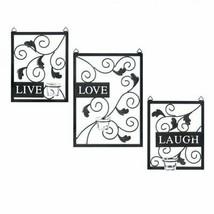 Live Love Laugh Wall Decor - $59.79
