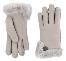 UGG Gloves Bailey Side Vent Seal Lg NEW $160 - $140.00