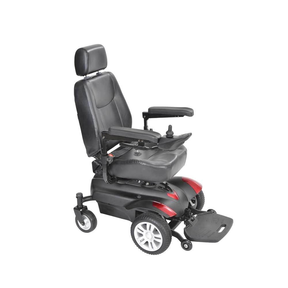 Titan Front Wheel Power Wheelchair-Full Back Seat-18''
