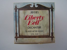 Avon Decanter Liberty Bell Decanter Oland After Shave 5 oz Full Original... - $6.82