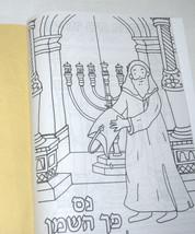 Judaica Hanukkah Coloring Creation Stickers Book Children Teaching Aid Scrapbook image 2