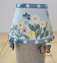 Yankee Candle Springtime Daisies Butterfly Floral Candle Lamp Tealight H... - $17.41