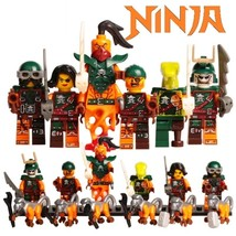 6pcs/set Sky Pirates Ninjago Nadakhan Clancee Cyren Doubloon Minifigures - $13.99