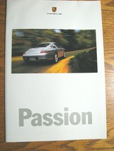 2000 Porsche Boxster 911 Carrera 4 Brochure Poster Xlnt - $15.82