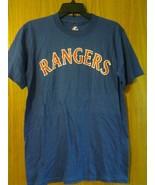 "Genuine Major League Baseball ""TEXAS RANGERS"" t-shirt sz Small #11 & 12 ... - $3.99"