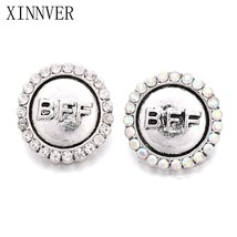 xinnver snap jewelry metal 18mm snap button bracelet bff design vintage alloy snap fit thumb200